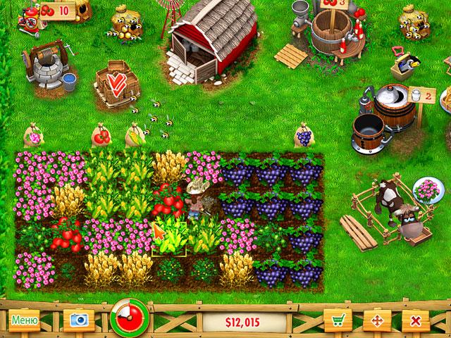 Игра где есть аукцион и плантации